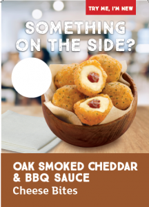 Oak Smoked Cheddar & BBQ Sauce Poster