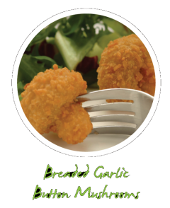Garlic Breaded Mushrooms