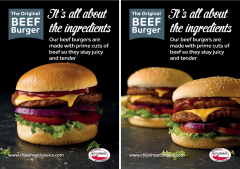 42nd Street Prime Beef Burger Poster