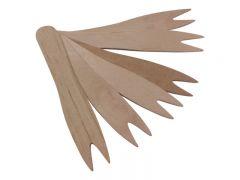 Wooden Chip Forks Plain Box