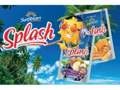 Splash Orange Foil Pouch