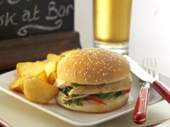 "Kara 4"" Burger Bun – Sliced/Seeded"