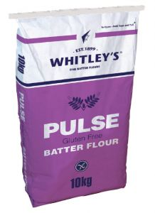 Pulse gluten free flour batter