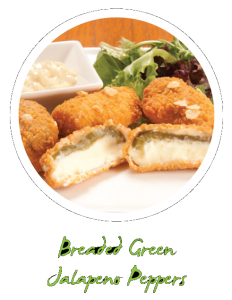Breaded Green Jalapeno Peppers