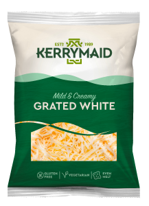 Kerrymaid White Cheddar Cheese – Grated