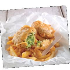 King Frost Naked Mushy Pea Fritters (Uncoated)