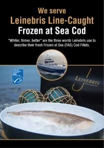 Leinebris Cod Poster
