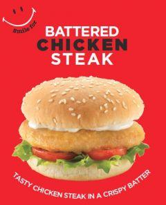 Q Battered Chicken Steak