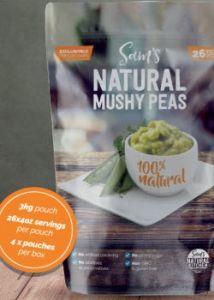 Sam's Natural Kitchen Frozen Peas