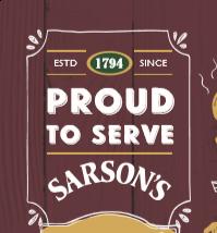 Sarsons Malt Vinegar 12 x 300ml