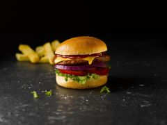 42nd Street 80% Beef Burger – Red Label
