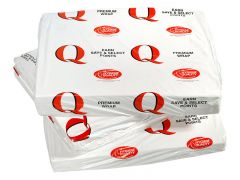 Q Brand White Wrapping Paper