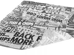 Newsprint Greaseproof