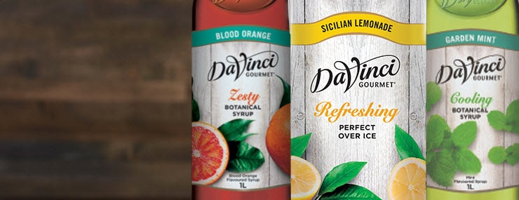 Da Vinci Botanical Range – Brighten Up Your Menu