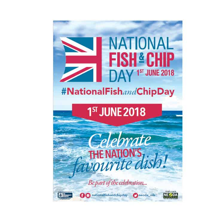 National Fish And Chip Day 2018 – Save The Date!