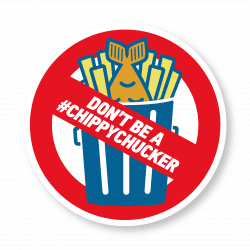 Don't Be A 'Chippy Chucker'! National Campaign Launched To Reduce Food Waste