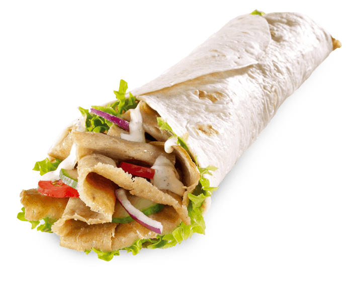 Double A Kebab Donner Wrap Image