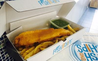 Hook & Fish packaging box
