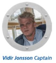 Vidir Jonsson Captain