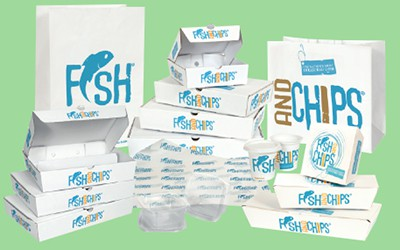 Hook and fish packaging range