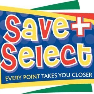 Save and select logo