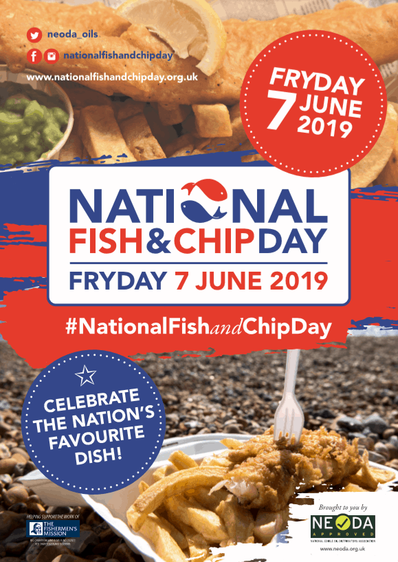 National Fish and Chip Day Poster
