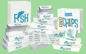 Hook & Fish packaging