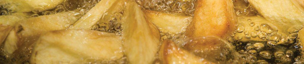 Chips in oil