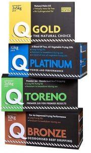 Q Gold, Q Platinum, Q Toreno and Q Bronze