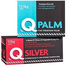 Q Palm and Q Silver