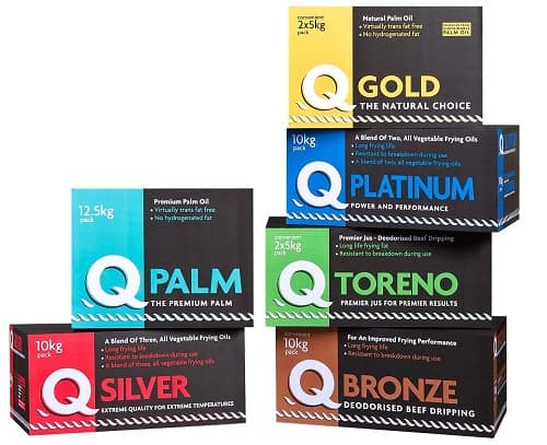 Take A Look At The Q Frying Oils And Fats Range