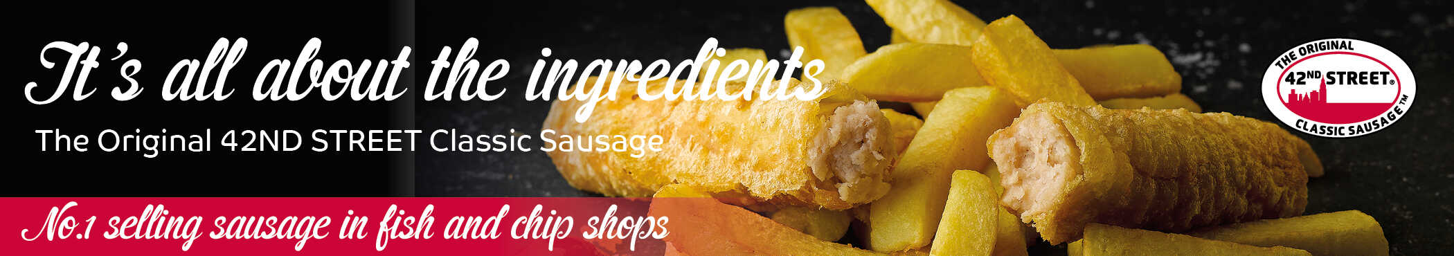 42nd Street Classic Battered Sausage