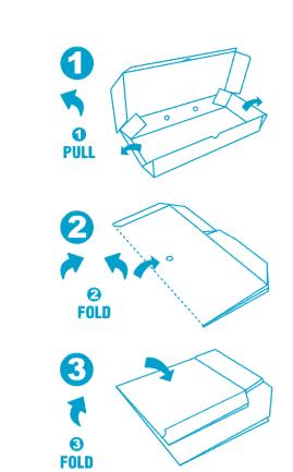 Fold It Bin It Instructions